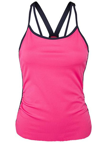 Women's Apparel - Lucky In Love Athena Break Point Bra Cami CT362-645