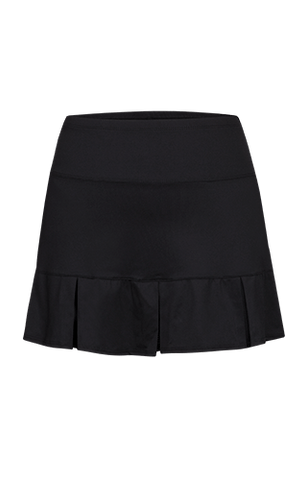 "Women's Apparel - Tail Essentials.  14.5"" Pleated Skort /Black"