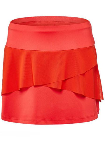 Women's Apparel - Tail Mirage 13.5'' Ruffle Layered Skort Paprika TA6656-0282