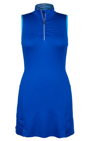 Women's Apparel - Tail Playful Blues Racerback Dress Play Blue