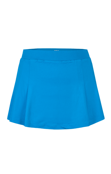 Women's Apparel - Tail Sequin Skies.  12.5'' Pleated Skort /Deep Aquatic