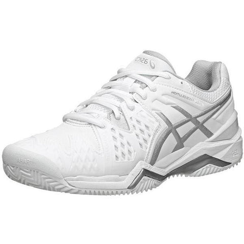 Women's Shoes - Asics Gel Resolution 6 White/Silver Women's Shoes