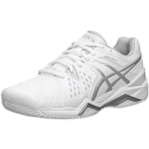 Women's Shoes - Asics Gel Resolution 6 WIDE White/Silver Women's Shoes
