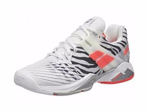 Women's Shoes - Babolat Women's Propulse Fury Zebra