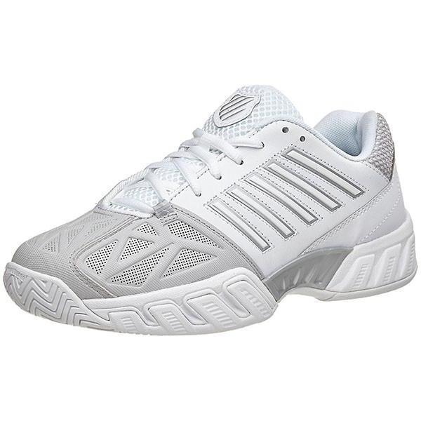 Women's Shoes - K-Swiss Bigshot Light 3 White/Silver Women's Shoes 95366-153