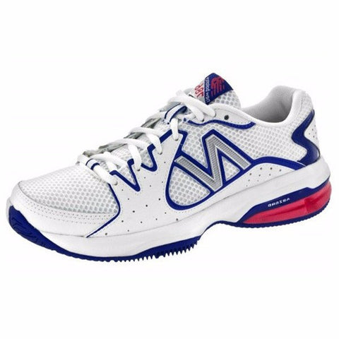 Women's Shoes - New Balance WC 786 White/Blue/Pink Women's Shoes
