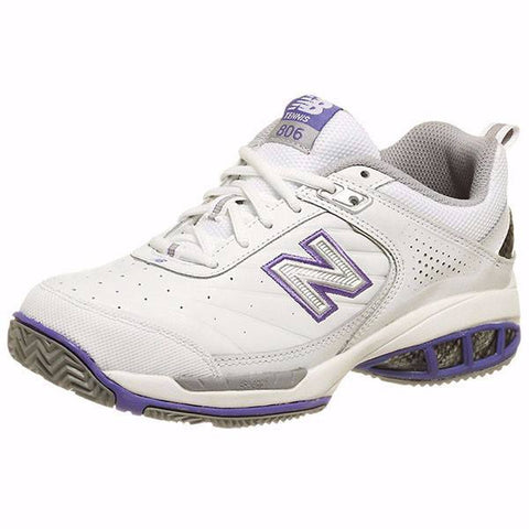 Women's Shoes - New Balance WC 806 White Women's Shoes