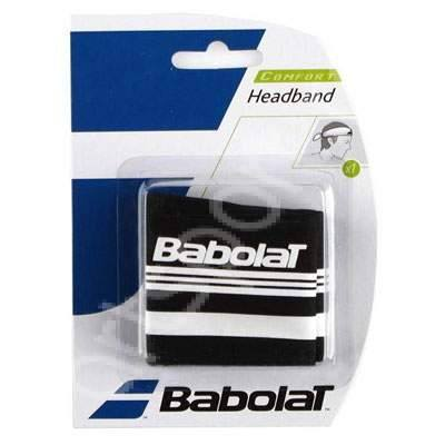 Wristbands And Headbands - Babolat Tie Headband Black/White