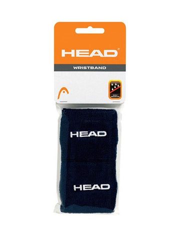 Wristbands And Headbands - Head Wristband 2.5 Inch Black 2 Pack