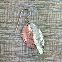 Silver and Copper leaves - Giulian Lyn