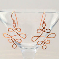 Infinity Earrings - Giulian Lyn