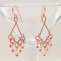 Copper Crystal Rain