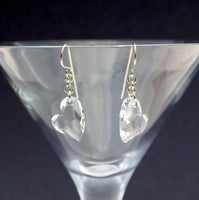 Devoted to you crystal earrings - Giulian Lyn