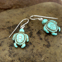 Turquoise Magnesite Sea Turtles