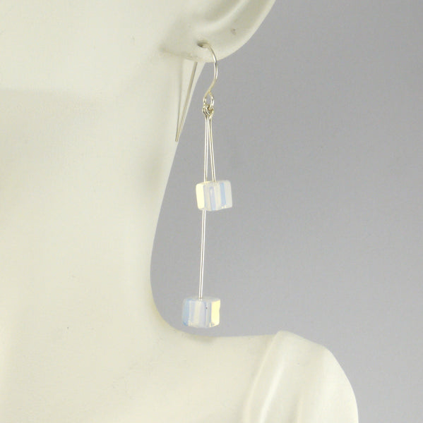 Moonstone Earrings - Giulian Lyn