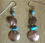 Metal forming earring workshop