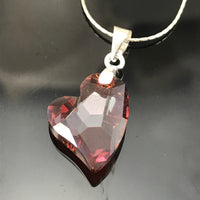 Red Magma Devoted To You Necklace - Giulian Lyn