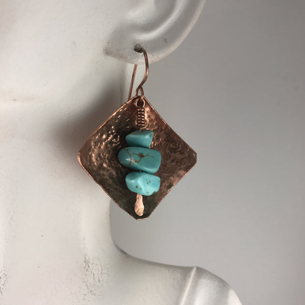 Copper and magnesite chips