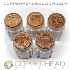 20x Assorted 5 oz Copper Coins