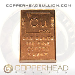 1 oz Copper Bar - Element