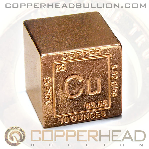 10 oz Copper Cube - Element Design