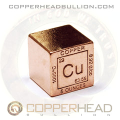 5 oz Copper Cube - Element Design