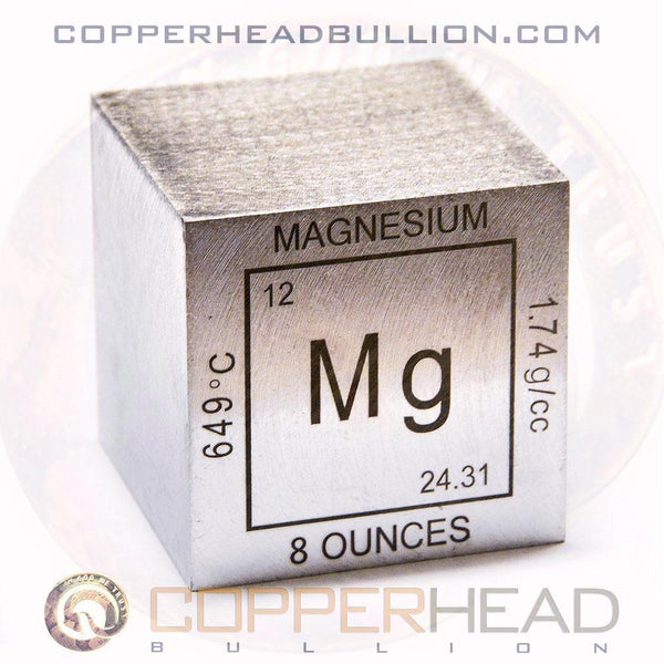 8 oz Magnesium Cube - Element Design