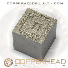 5 oz Titanium Cube - Element Design