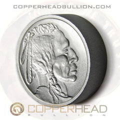 2 Pound Iron Round - Indian Head