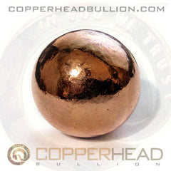 10 oz Copper Sphere