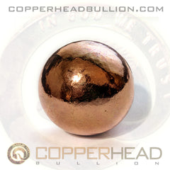 4 oz Copper Sphere