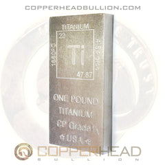1 Pound Fine Titanium Bar - Element Design