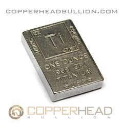 1 oz Titanium Bar - Element