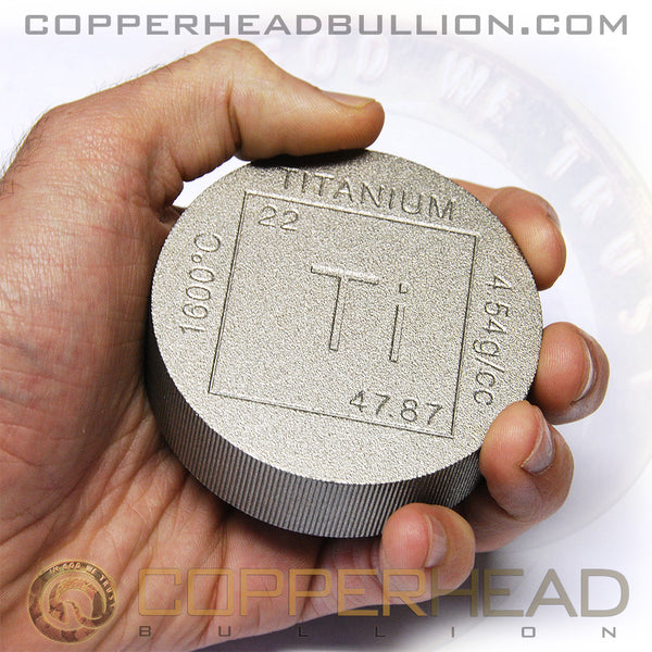 1 Pound Titanium Round - Element
