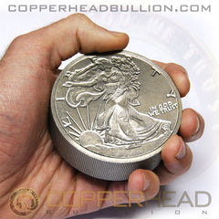1 Pound Titanium Round - Walking Liberty