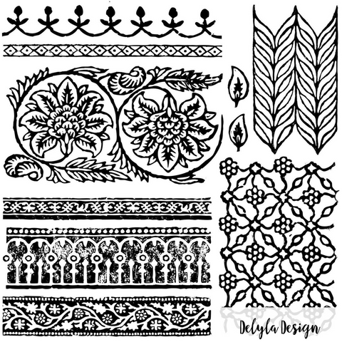 IOD Decor Stamp- { Bohemia }