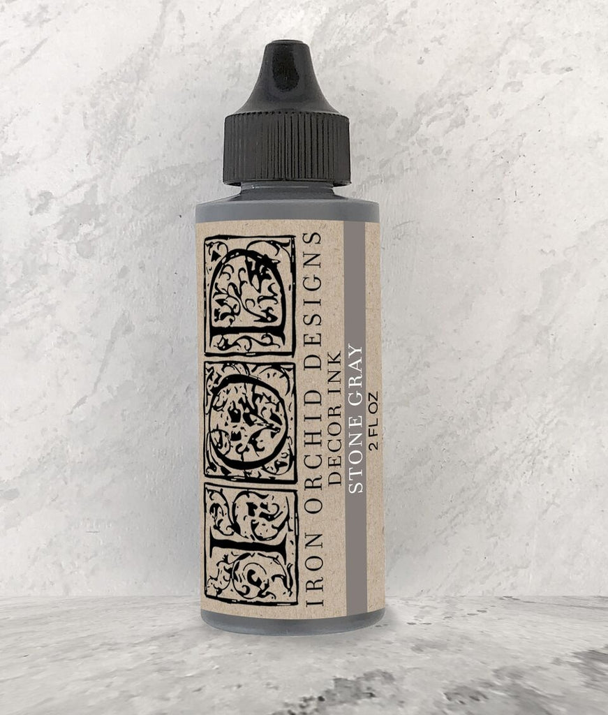 IOD Decor Ink: Stone Gray 2 ounce