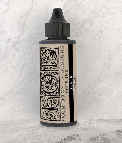 IOD Decor Ink: Black 2 Ounce