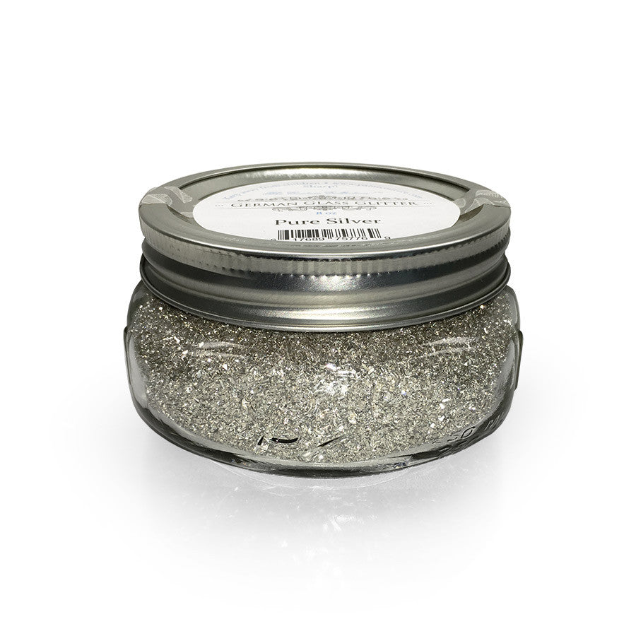 Pure Silver German Glass Glitter