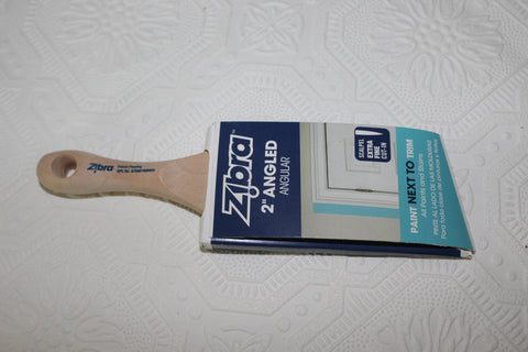 Zibra Small 2' Sash Brush