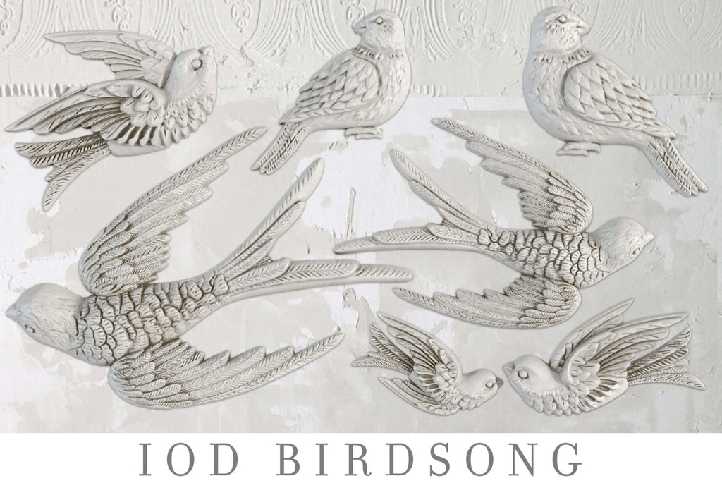 IOD Decor Moulds: BIRDSONG