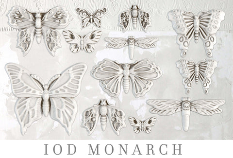 IOD Decor Moulds: MONARCH