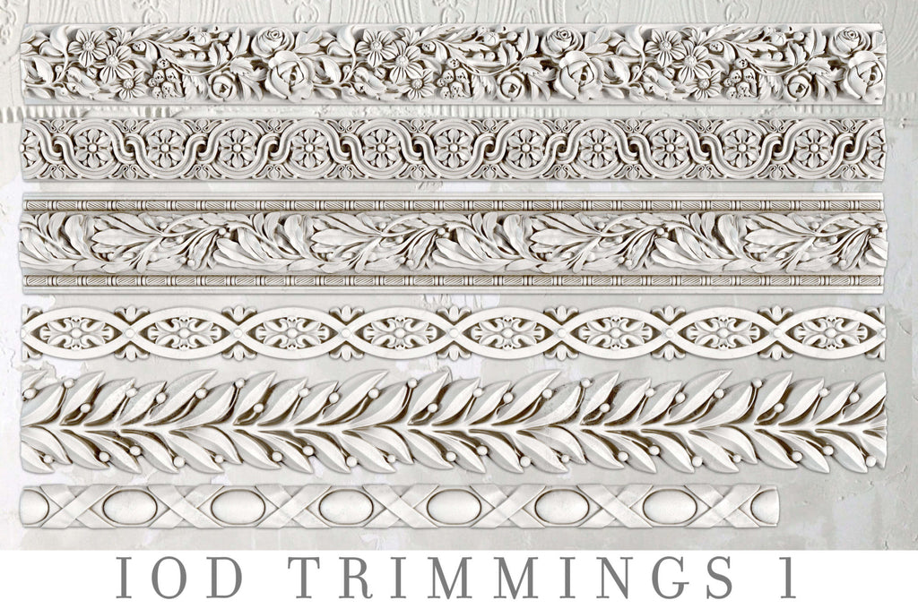 IOD Decor Moulds: TRIMMINGS 1