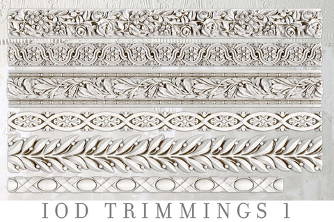 IOD Decor Moulds: TRIMMINGS 1  { Shipping 4/16 }