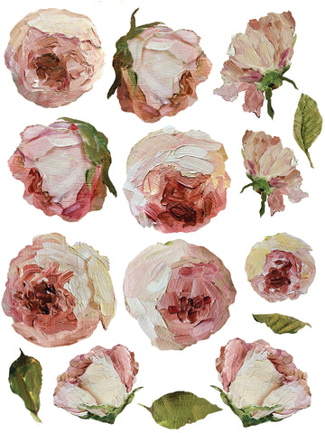 IOD Decor Transfer: Painterly Florals