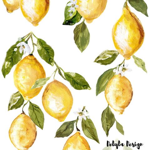 IOD Decor Transfer: Lemon Drops