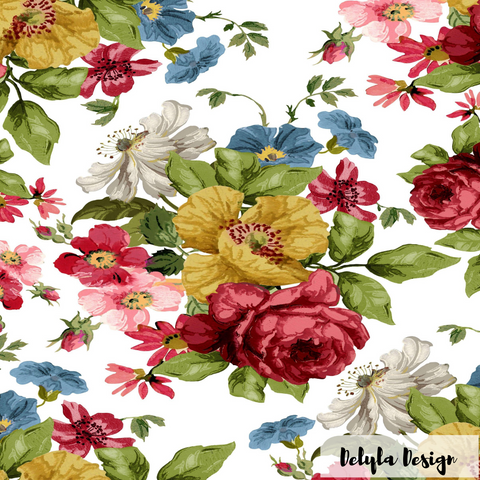 IOD Decor Transfer: Wall Flower