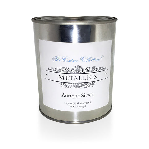 Antique Silver Metallic Paint