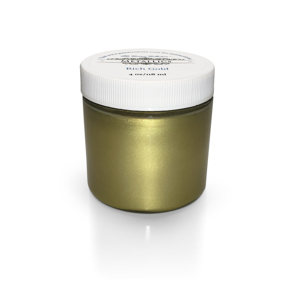 Rich Gold Metallic Paint
