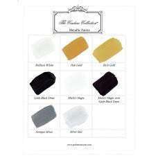 Metallic Paint Color Card